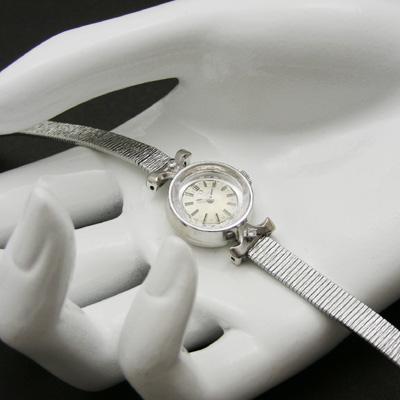 オメガ ダイヤ装飾 14KWG プリズム風防 レディースウオッチ 02