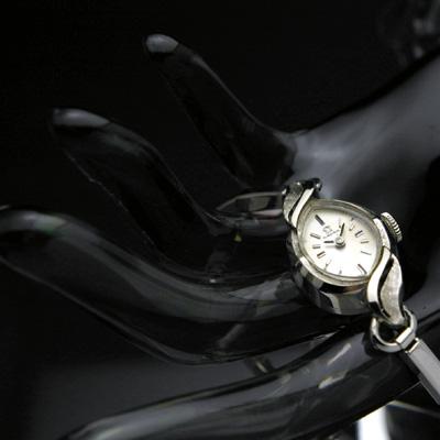 オメガ 14KWG アーモンドケース アンティーク 手巻き レディースウオッチ 02