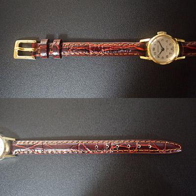 ウォルサム 手巻き腕時計 レディースアンティークウオッチ アラビア数字インデックス 04