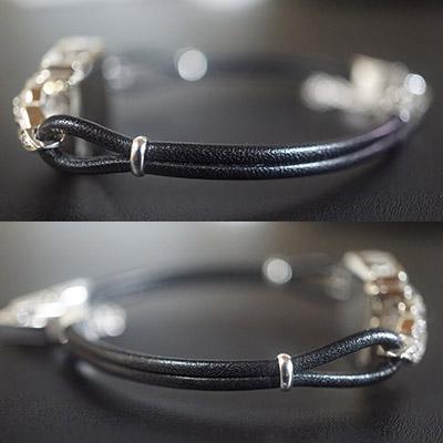 ハミルトン ダイヤ装飾 10KWGケース スクエアシェイプ アンティーク レディースウオッチ 04